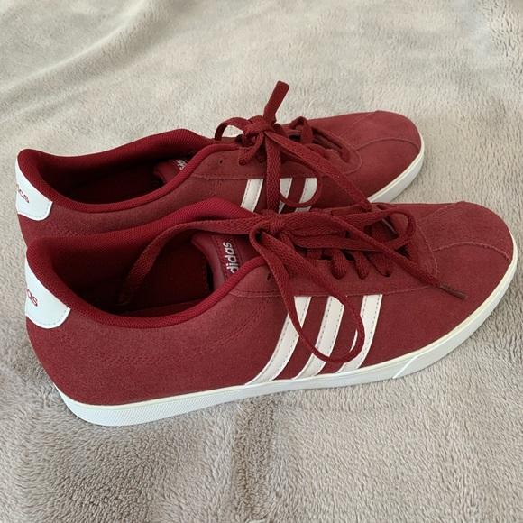 Red & White Adidas Sport Sneaker